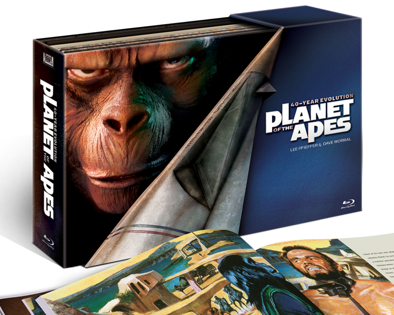 Planet of the Apes BluRay packaging designed by Cheryl Savala