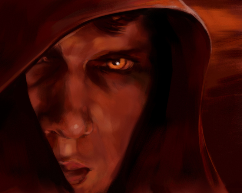 Anakin Turning to the Dark Side illustrated by Cheryl Savala, ©Lucasfilm, Ltd.